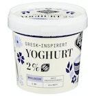 Yoghurt Naturell 2%