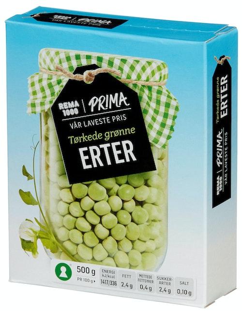 REMA 1000 Tørkede Erter Grønne 500 g