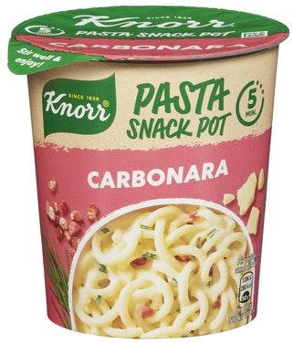 Knorr Pasta Carbonara Smårett i Kopp, 63 g