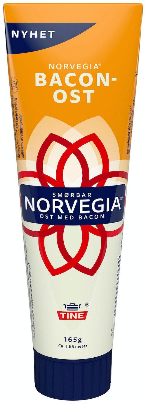 Tine Norvegia Smøreost Med Bacon 165 g