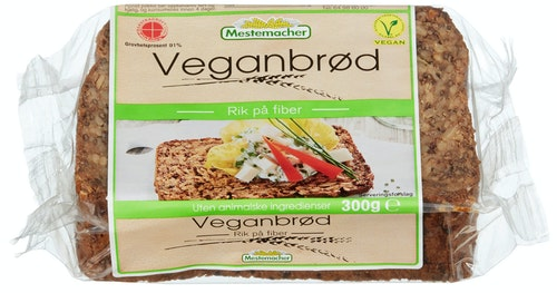 Mestemacher Veganbrød 300 g
