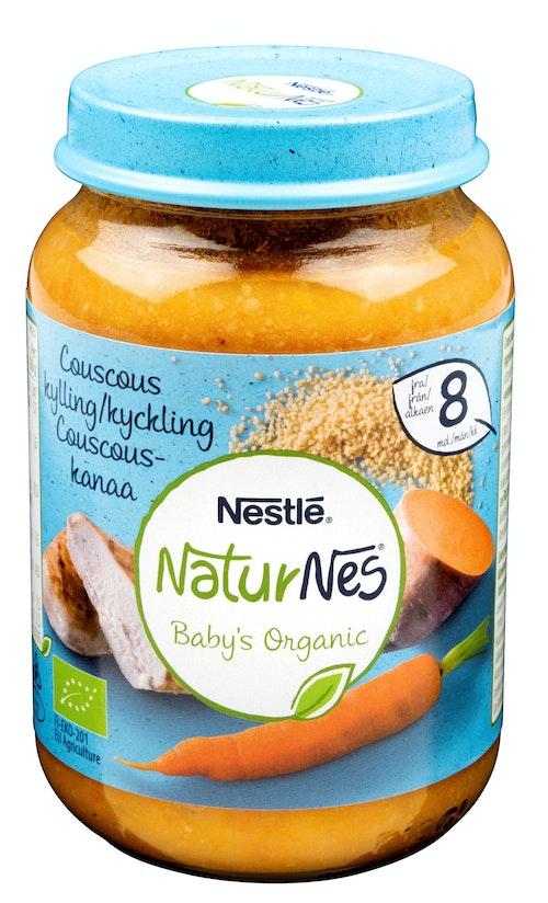 Nestlé Couscous med Kylling Fra 8 mnd, 195 g