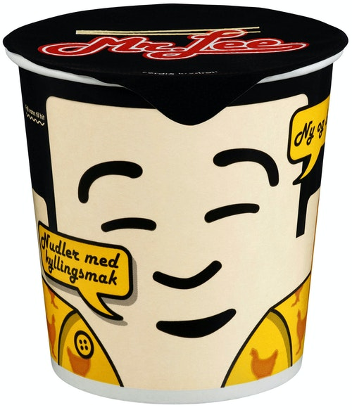 Mr. Lee Kopp-Nudler Med kyllingsmak 65 g