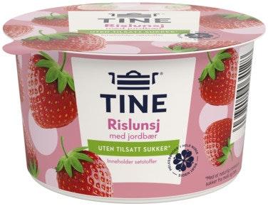 Tine Rislunsj Med Jordbær UTEN, 150 g