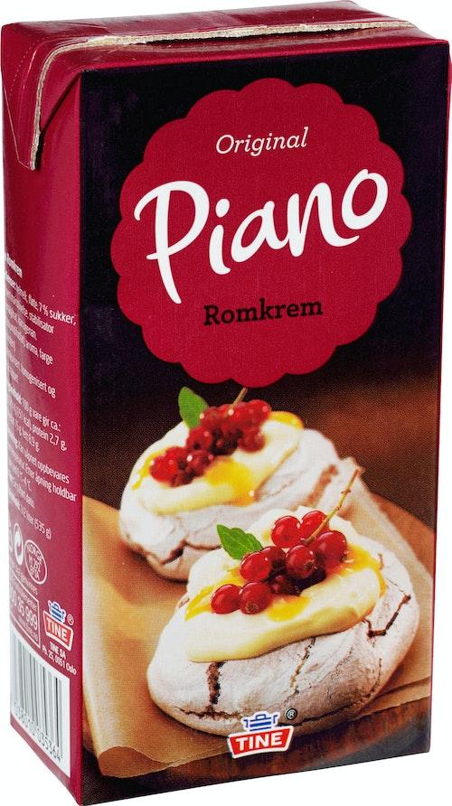 Tine Piano Kakekrem  Med Romsmak, 0,5 l