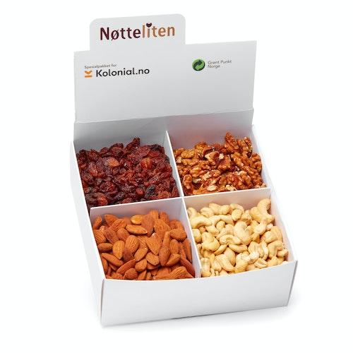Nøtteliten Økologisk Nøttemiks 1 kg