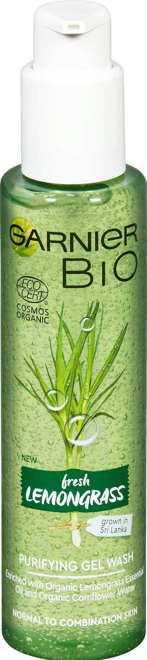 Garnier Lemongrass Purifying Gel Wash Cleanser, 150 ml