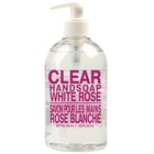 Clear Handsoap, White Rose