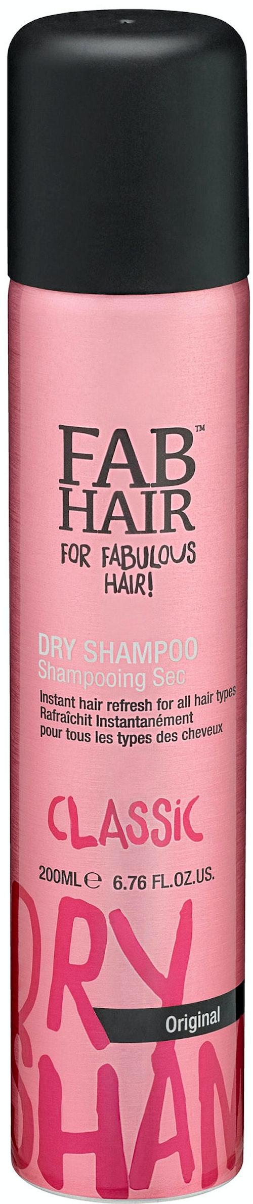 Fab Hair Dry Shampo Original 200 ml