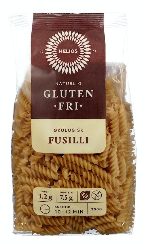 Helios Pasta Fusilli Økologisk Glutenfri, 300 g
