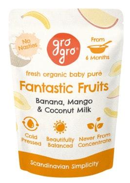 Gro Gro Fantastic Fruits fra 6 mnd økologisk, 100 g