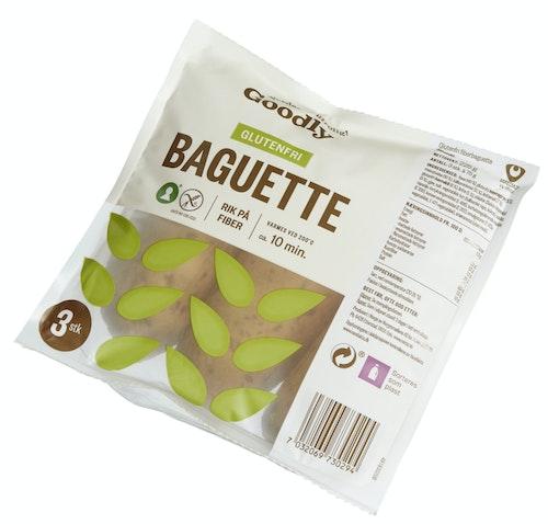 Goodly Fiberbaguette Glutenfri 3x75g, 225 g