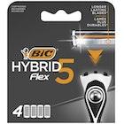 Bic Hybrid 5 Flex-barberhøvelrefills