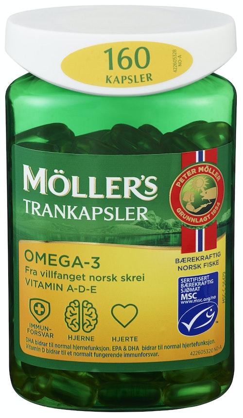 Möller's Möller's Trankapsler MSC 160 stk
