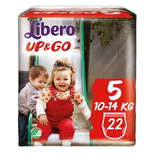 Libero Libero Up&Go Str.5 10-14kg, 22 stk