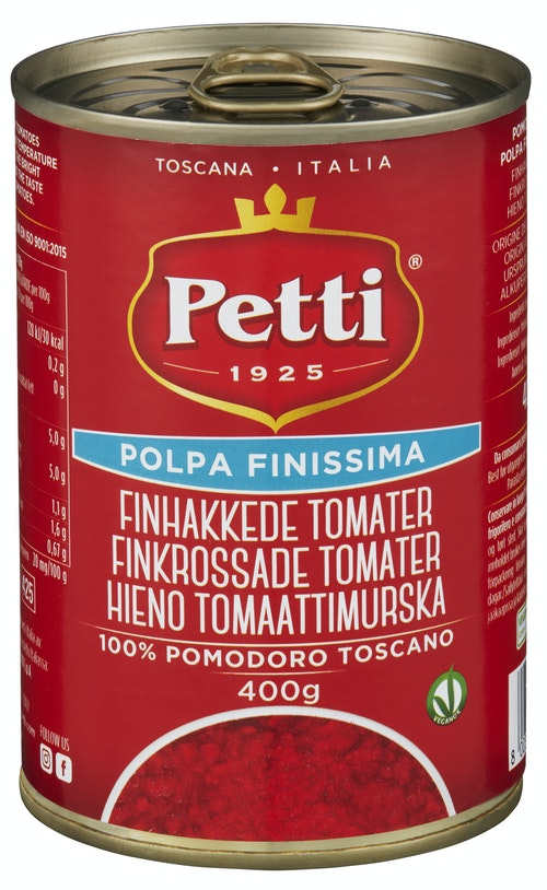 Petti Finhakkede Tomater 400 g