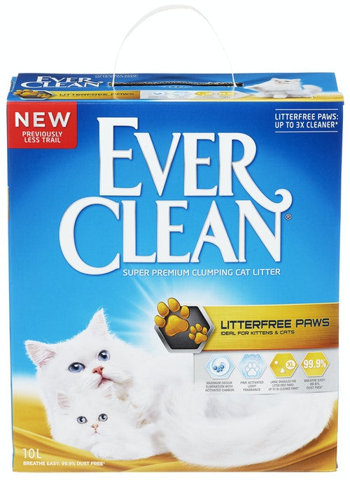 Ever Clean Kattesand Litter Free Paws 10 l
