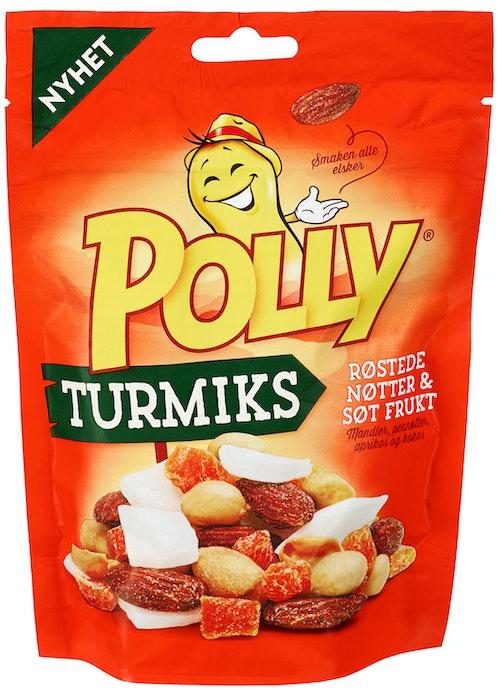 Polly Turmiks Røstede Nøtter og Søt Frukt, 160 g