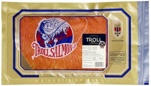 Troll Salmon Røkt Laks i Skiver 500 g