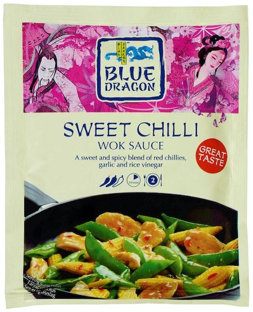 Blue Dragon Sweet Chili Woksaus, 120 g