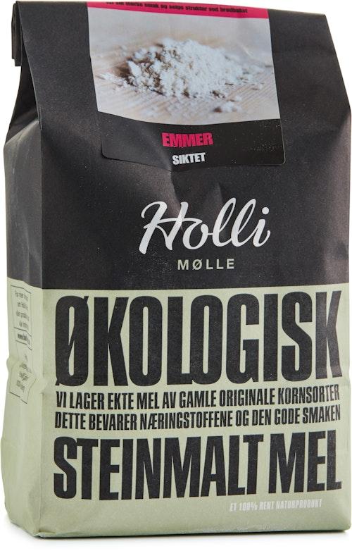 Holli Mølle Økologisk Emmermel Siktet 1 kg