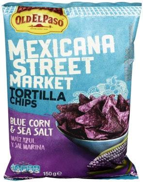 Old El Paso Old El Paso Mexicana Blue Corn Chips 10x150g 1 stk