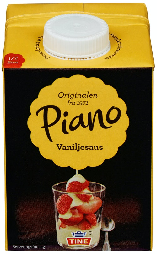 Tine Vaniljesaus Piano 0,5 l