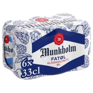 Munkholm Munkholm Fatøl 6 x 0,33l, 1,98 l