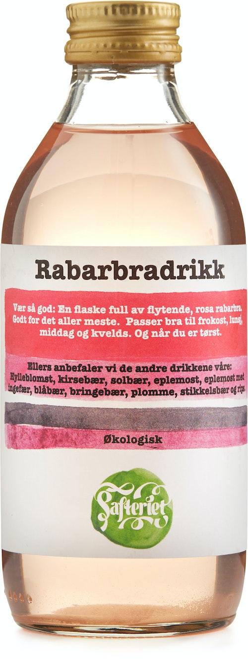 Safteriet Økologisk Rabarbradrikk 0,25 l