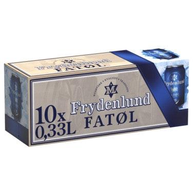 Frydenlund Frydenlund Fatøl 10 x 0,33l, 3,3 l