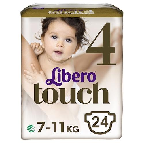 Libero Libero Touch Tapebleie, Str.4 7-11kg, 24 stk