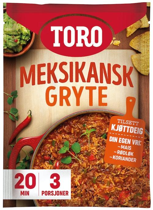 Toro Meksikansk gryte 189 g