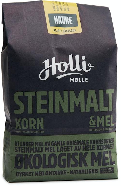 Holli Mølle Økologisk Havre Steelcut 1 kg