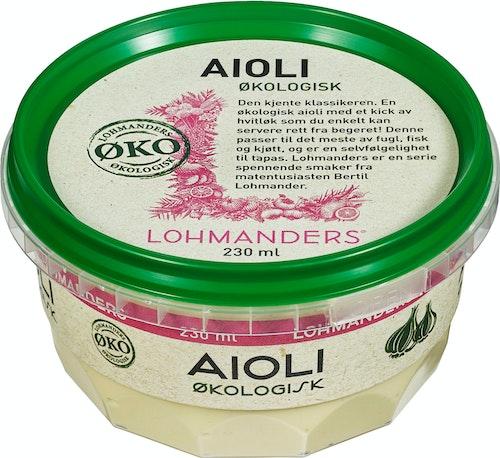 Lohmanders Økologisk Aioli 230 ml