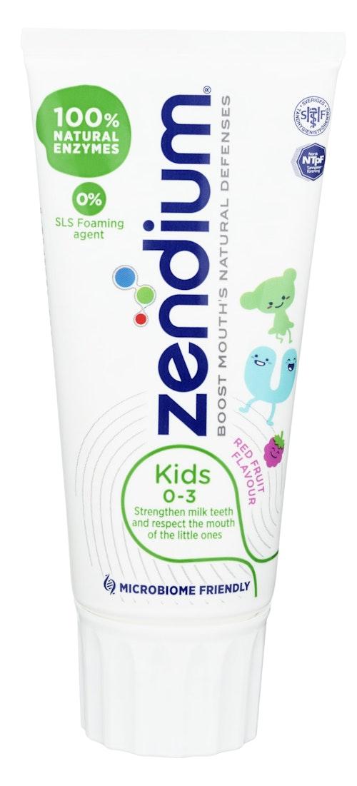 Zendium Zendium Kids Tannkrem 0-3 år, 50 ml