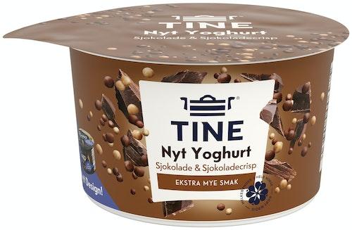 Tine Piano Duo Yoghurt Sjokolade og sjokocrisp, 122 g