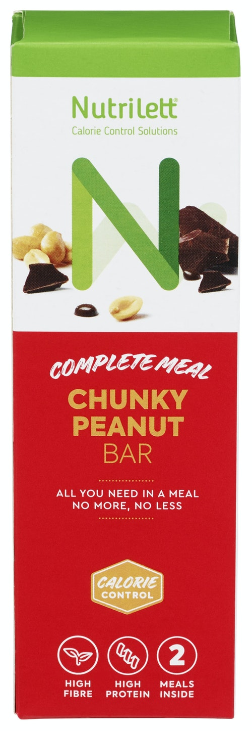 Nutrilett Chunky Peanut 2pk, 110 g