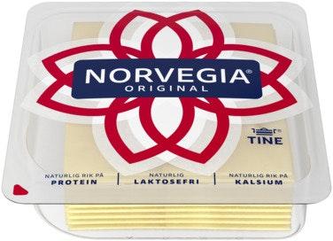 Tine Norvegia Original 27% Skivet, 300 g
