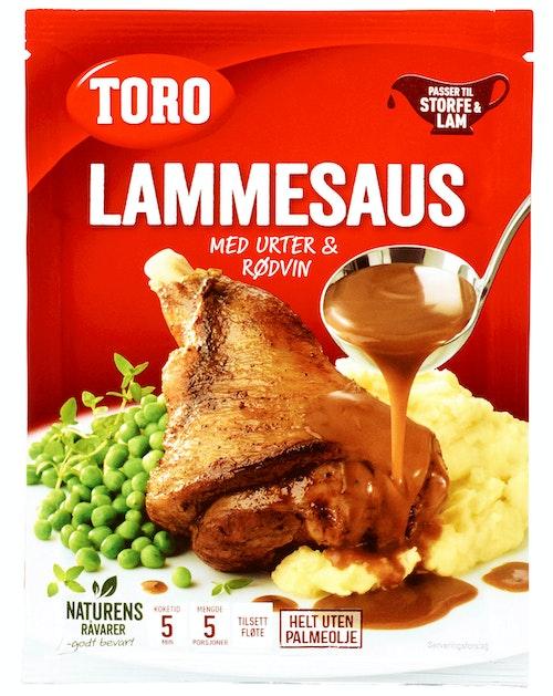 Toro Lammesaus Med Urter & Rødvin 42 g