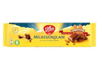 Freia Melkesjokolade med Pepperkaker 190 g