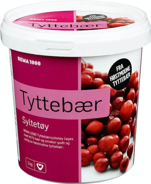 REMA 1000 Tyttebærsyltetøy 1 kg