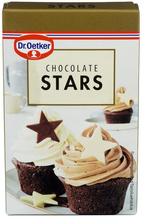 Dr. Oetker Sjokoladestjerner 20 g