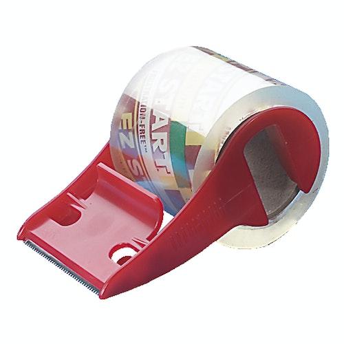 Clas Ohlson Pakketeip med dispenser, transparent 1 stk