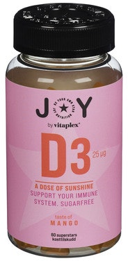 JOY JOY Nutrition D-vitamin Mango 60 stk
