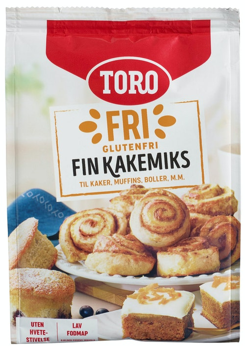 Toro Fin Kakemiks Glutenfri, 346 g