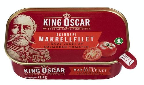 King Oscar Makrell i Tomat 110 g