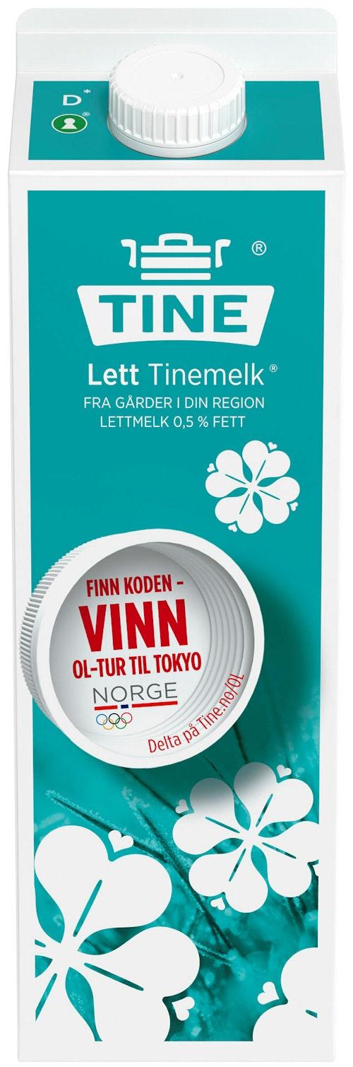 Tine TineMelk Ekstra Lett 0,7%, 1 l