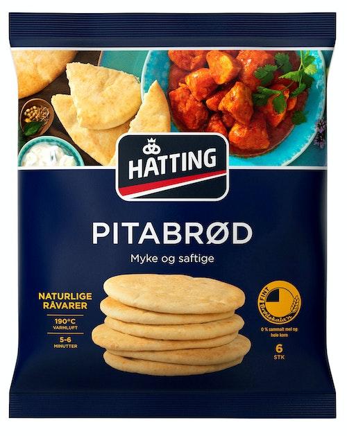 Hatting Pitabrød Fine, 6stk, 480 g