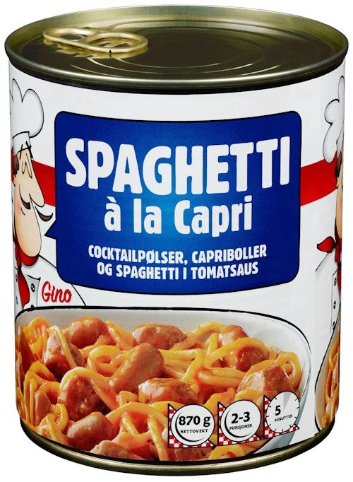 Trondhjems Spaghetti à la Capri 870 g