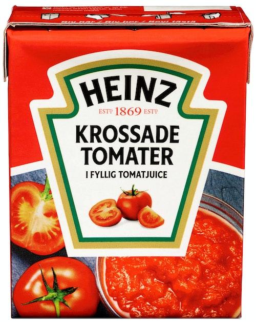 Heinz Hakkede Tomater Naturell 390 g